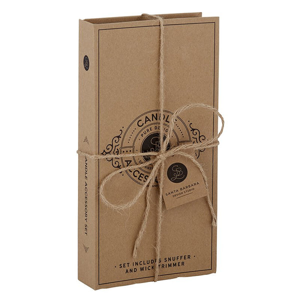 Cardboard Book Set, Candle