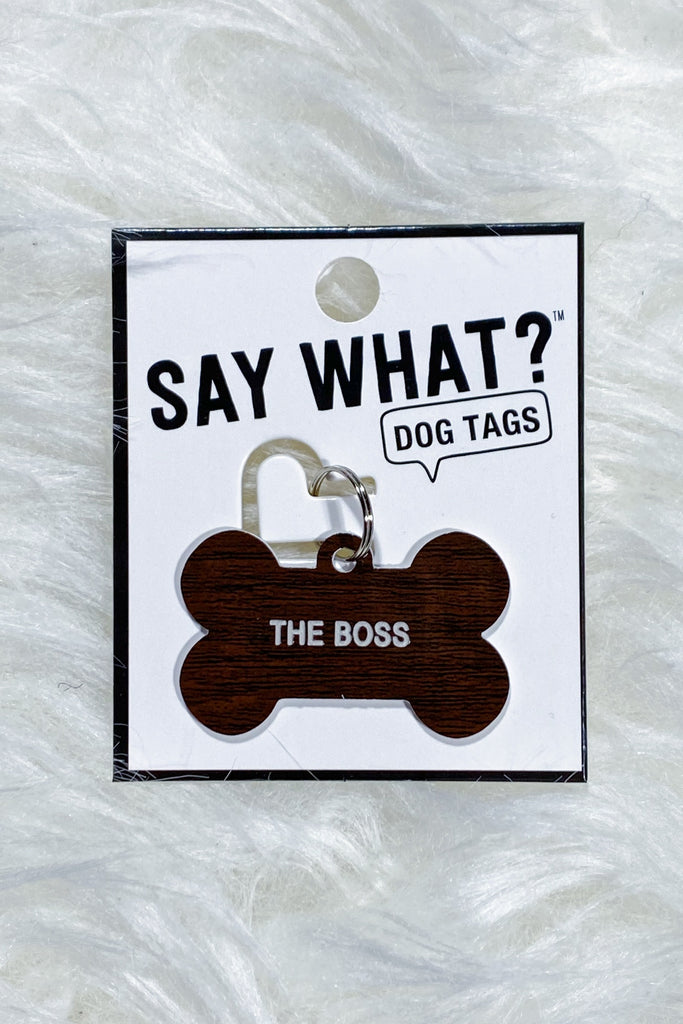 Say What? Pet Tags