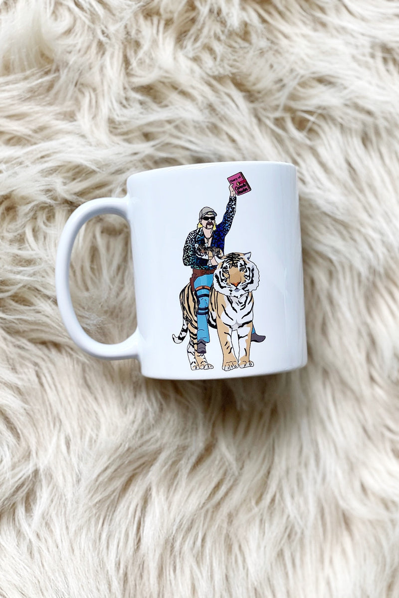 Joe Exotic Tiger King Flashy Shirt Mug