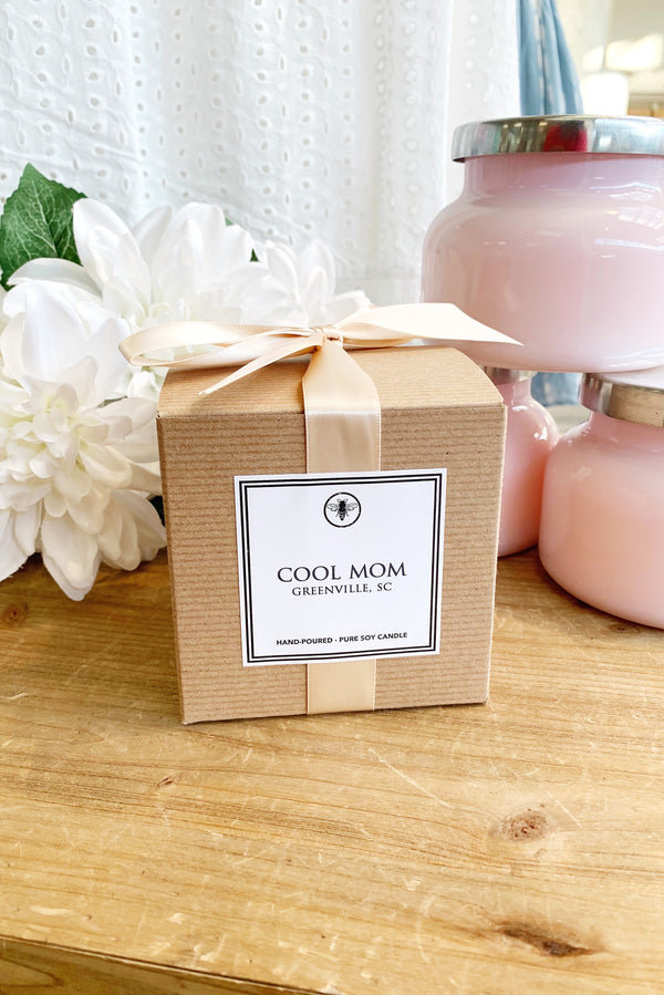 Cool Mom Boxed Candle