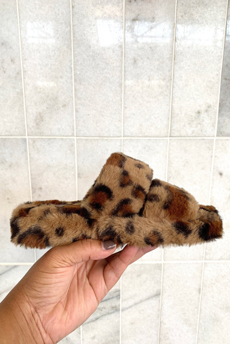 The Lounge Life Slippers in Leopard