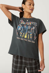 Daydreamer: The Doors Waiting For The Sun Tour Tee in Vintage Black
