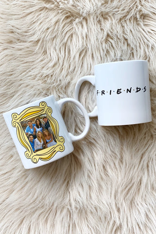 Friends Photo Frame Jumbo Mug, 20 oz.