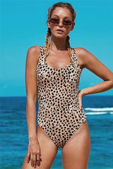 All The Fun Leopard One Piece Swimsuit