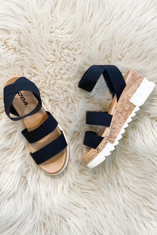 Madyson Cork Wedges