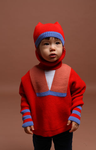 BST Jumper / kid / red