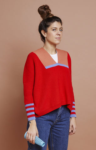 BST Jumper / mum / red