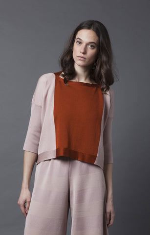 Color-block top