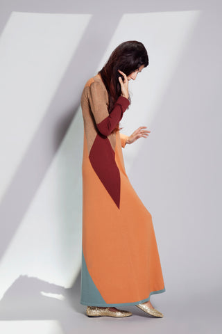 Sartoria Vico + Wait and See<br>Kaleidoscopic dress