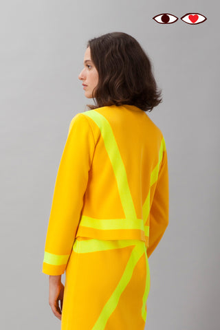 Sartoria Vico + Wait and See<br>Jacket glow - Yellow