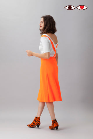 Sartoria Vico + Wait and See<br>Skirt glow - Orange