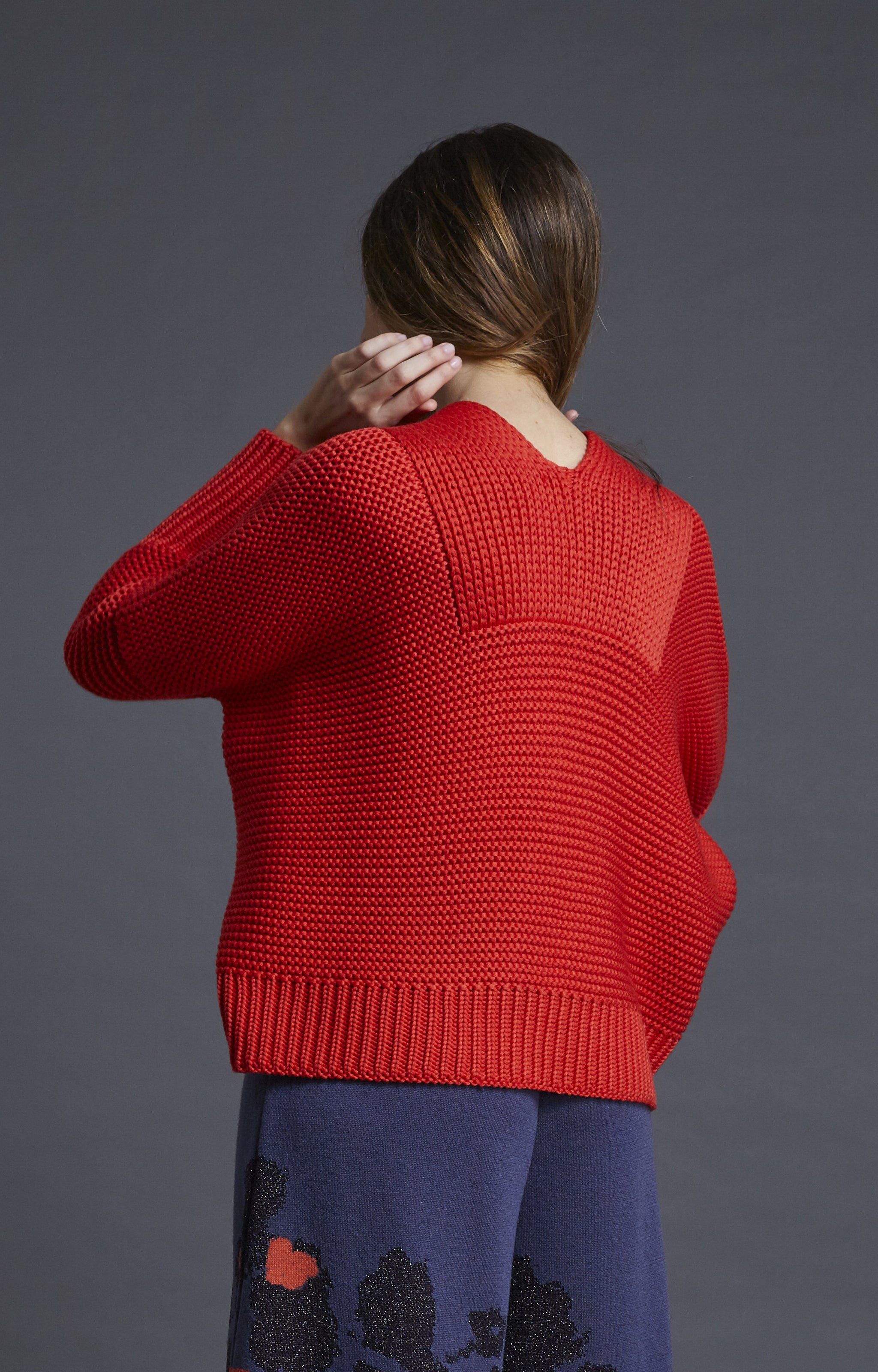 Chunky oversize sweater