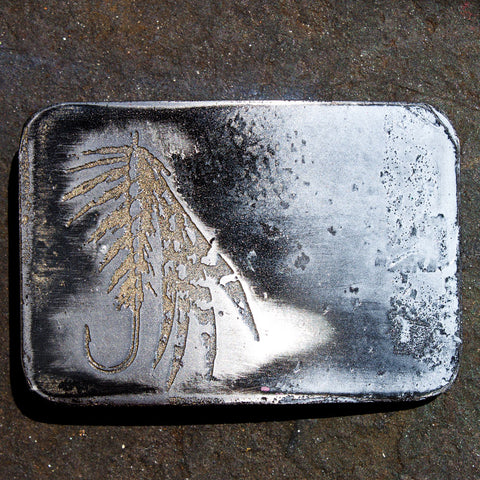 Fly Fishing Lure Belt Buckle