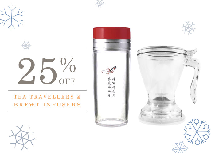 Tea Traveller - BrewT Tea - 25% off at Cornelia Bean