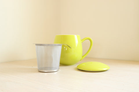 Mug with Tea Strainer