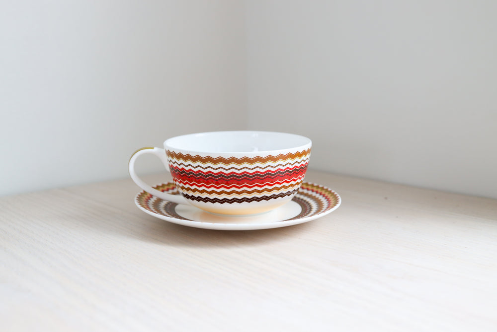 Cup and Saucer Fine Bone China Set