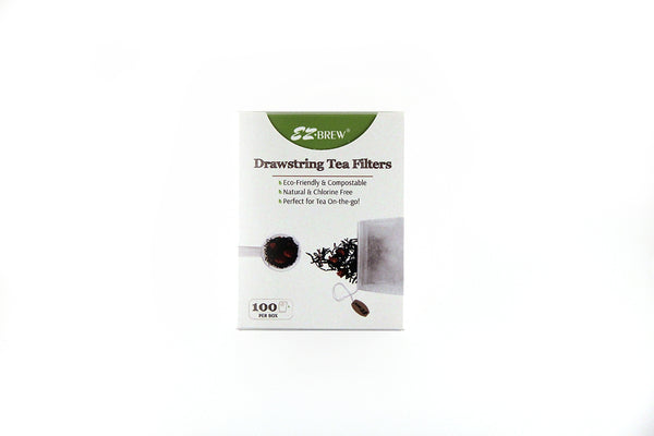 EZ Brew Drawstring Tea Filters