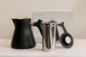 Raven Stovetop Kettle and Tea Steeper
