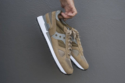 Shadow Original taupe green / SAUCONY - lacreme - boutique Rennes