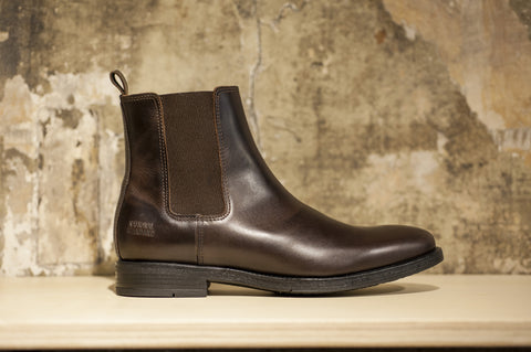 Boots marron National Standard - lacreme - boutique Rennes