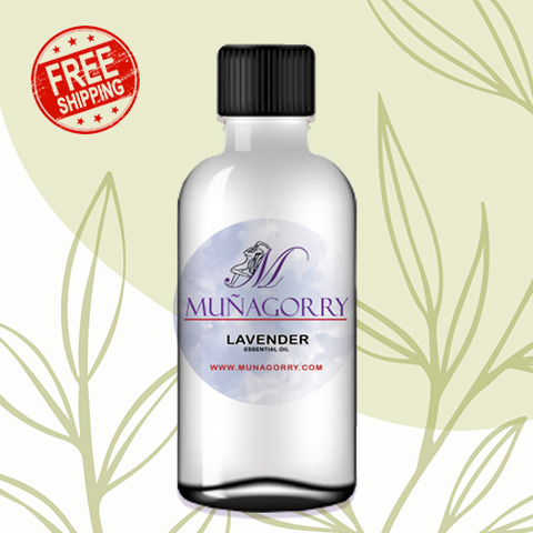 LAVENDER PURE ESSENTIAL OIL | 2.0 OZ WITH FREE SHIPPING