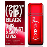 212 VIP BLACK RED BY CAROLINA HERRERA FOR MEN | EDP 3.4 OZ