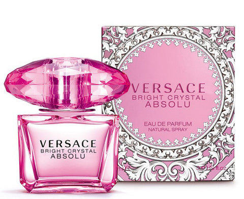 BRIGHT CRYSTAL ABSOLU BY VERSACE FOR WOMEN | EDP 3.4 OZ