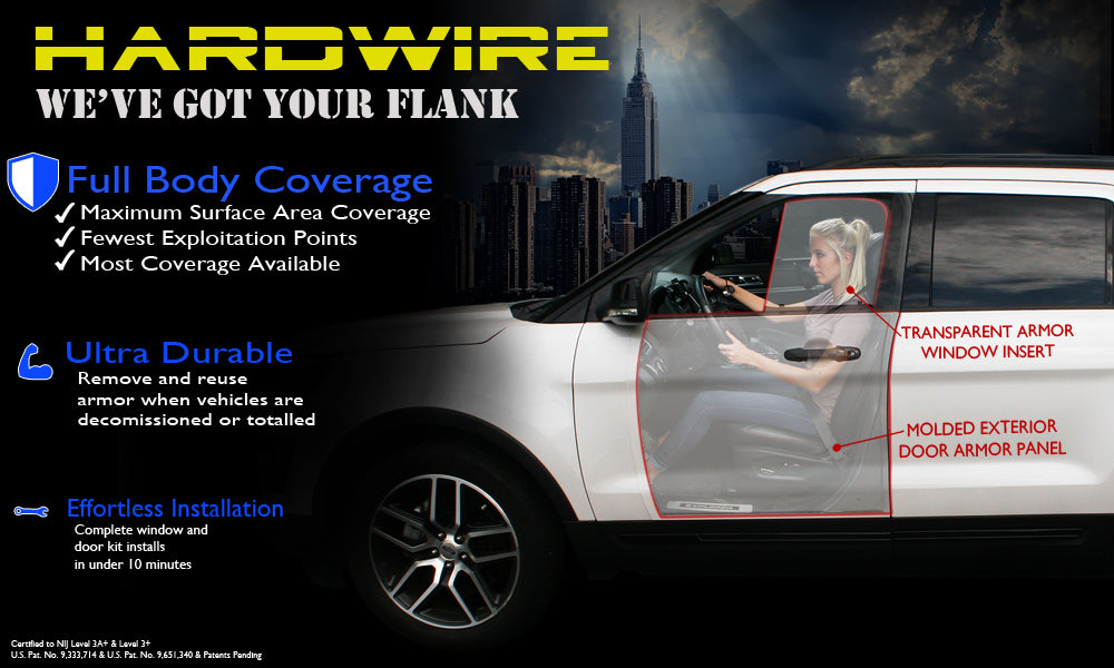 ... add ballistic protection to a police vehicle without major vehicle modifications or difficult installation. Hardwireu0027s police car door and window armor ... : armor door - Pezcame.Com