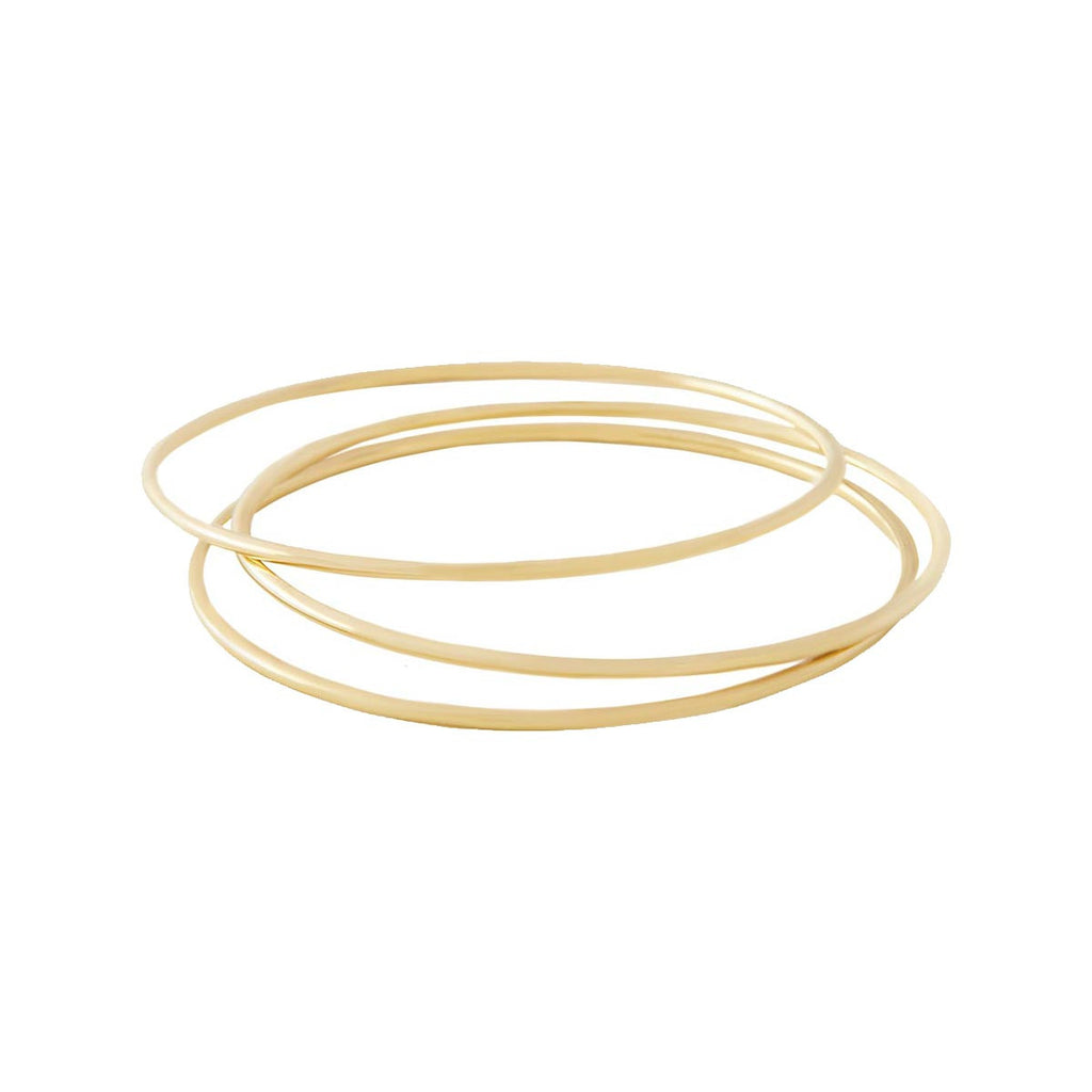Plated Set of 3 Bangles
