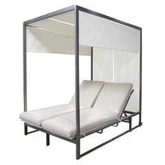 Contempo Double Sling Sunbed with Covered Canopy