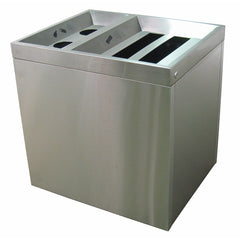 PS-747-36 Concourse Waste Receptacle