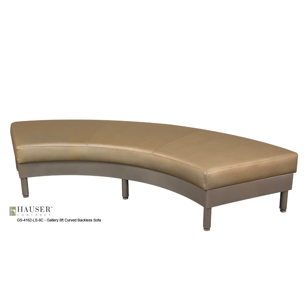 Gallery Curved Backless Sofa - Hauser Contract