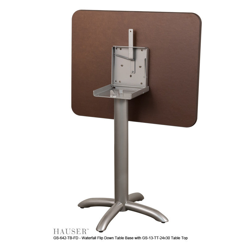 Remarkable Waterfall Flip Down Table Hauser Contract Interior Design Ideas Clesiryabchikinfo