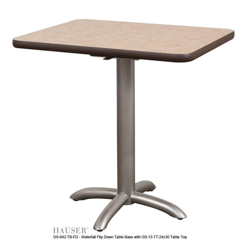 Magnificent Waterfall Flip Down Table Hauser Contract Interior Design Ideas Clesiryabchikinfo