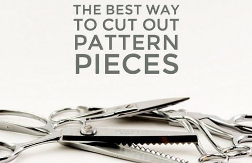 The Best Way to Cut Out Pattern Pieces