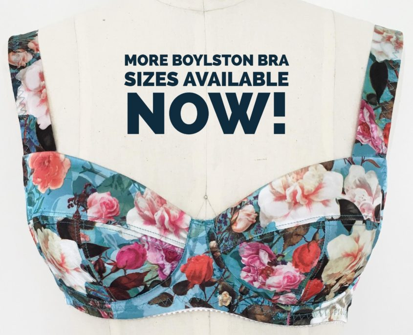 New Boylston Bra Pattern for DDD to J Cups!