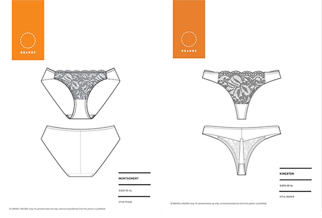 Introducing the Montgomery Brief and Kingston Thong Patterns!