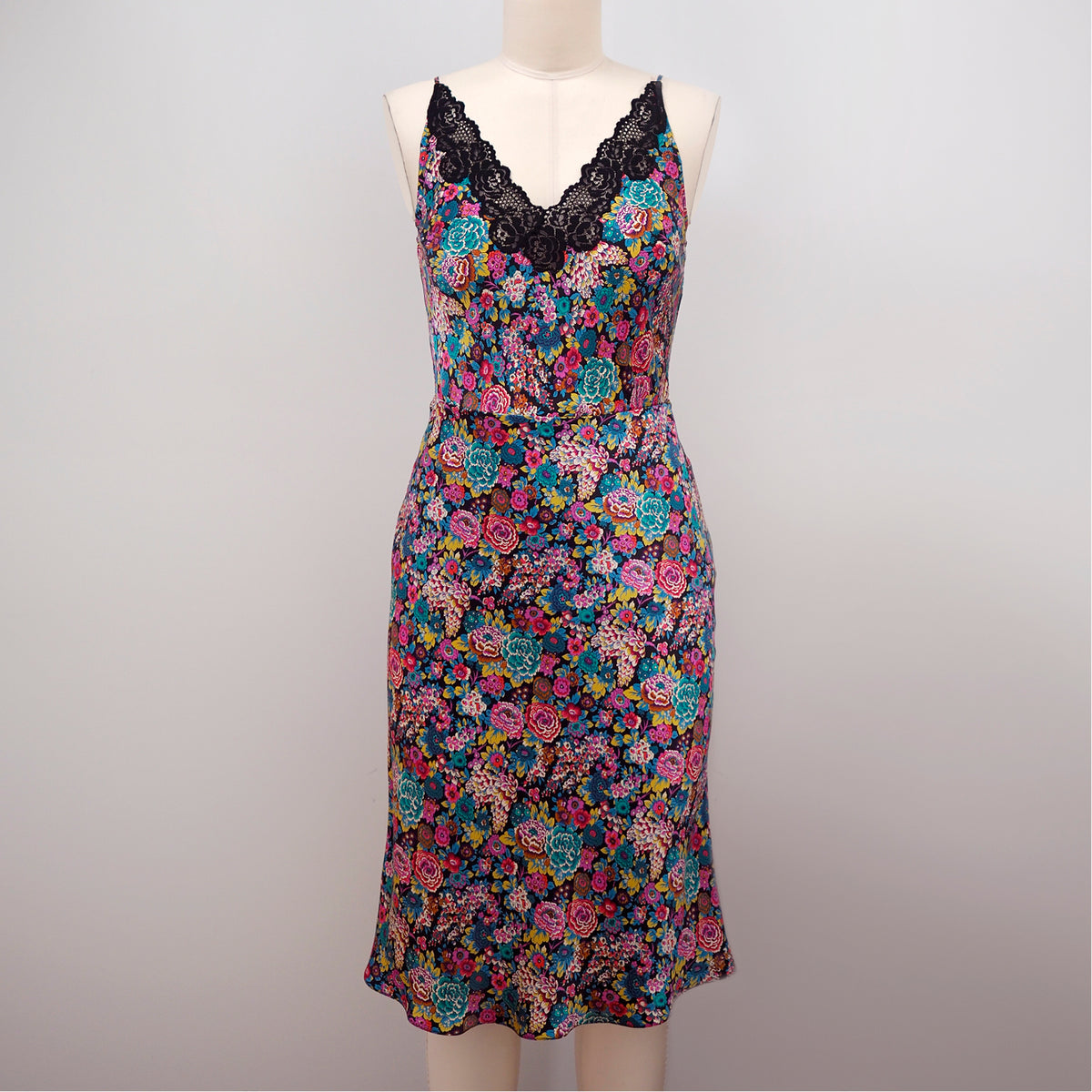 Floral Bellevue Camisole with Newell Slip Skirt by Orange Lingerie