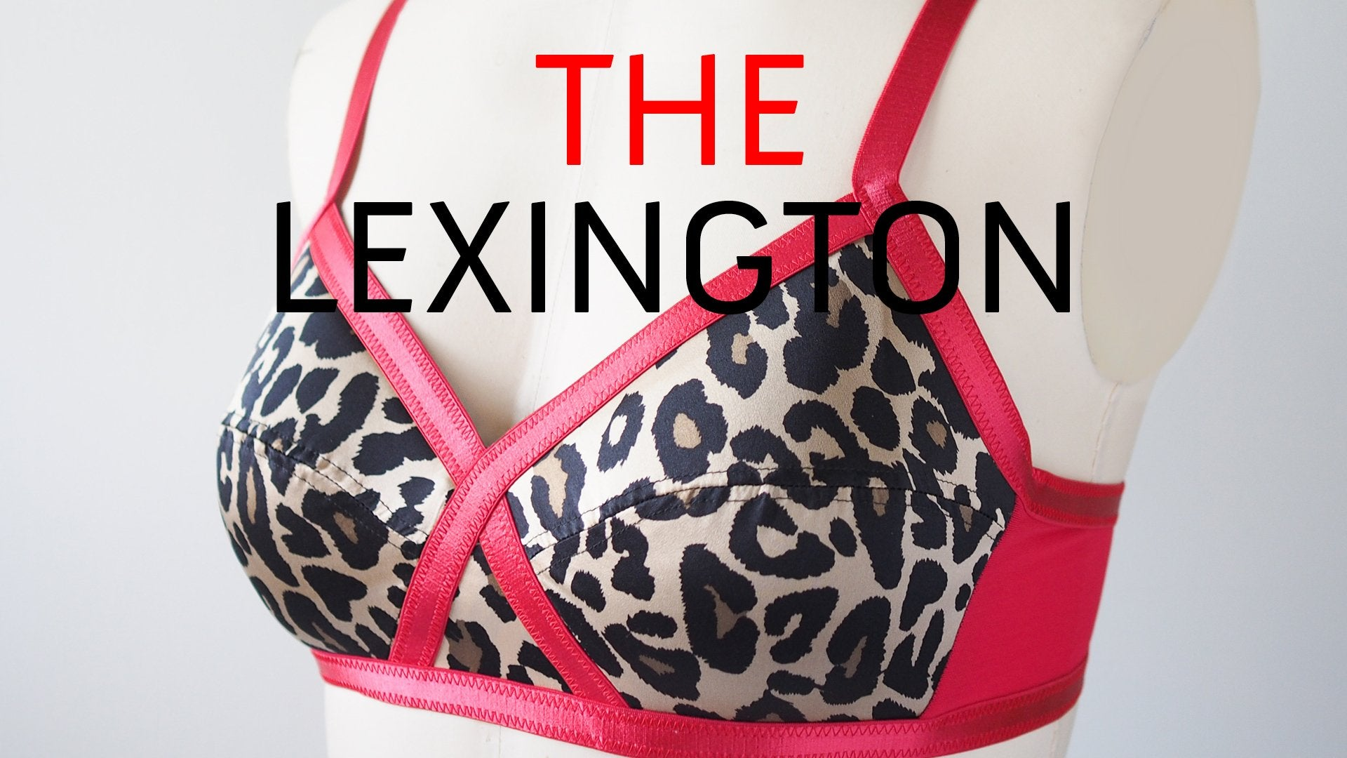 The Berkeley Bra Sewing Pattern by Orange Lingerie