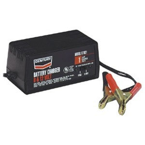 CENTURY - TRICKLE BATTERY CHARGER 1 AMP, 6/12V