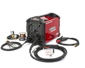 LINCOLN ELECTRIC POWER MIG 210MP MULTI PROCESS WELDER