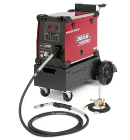 LINCOLN ELECTRIC POWER WAVE® C300 ADVANCED PROCESS WELDER STEEL READY-PAK®