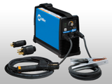 MILLER ELECTRIC MAXSTAR 150 STL-STICK/LIFT-ARC TIG WELDER- W/ ELECTRODE HOLDER & GROUND (NO TIG TORCH)