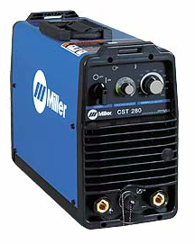 MILLER ELECTRIC CST 280 STICK/TIG WELDER-220/230V-460/575V W/ TWECO STYLE CONNECTORS