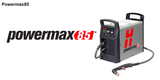 HYPERTHERM POWER MAX 85 HAND SYSTEM MACHINE 200-600V/CPC/75&15 DEGREE TORCH