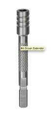 LEATHERMAN BIT DRIVER EXTENSION-SILVER