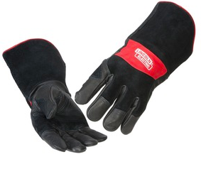 LINCOLN ELECTRIC PREMIUM LEATHER MIG STICK WELDING GLOVES