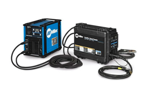 MILLER ELECTRIC PIPEWORX FIELD PRO WELDING SYSTEM- RMD/PULSE- INCLUDES FIELDPRO 350 POWER SOURCE, FIELDPRO SMART FEEDER, AND PIPEWORX 300A MIG GUN