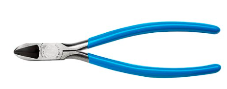 CHANNEL LOCK FLUSH CUTTING LONG REACH PLIERS 7.5""