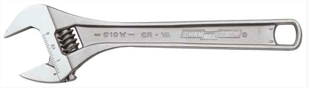"CHANNEL LOCK WIDE AZZ ADJUSTABLE WRENCH 6.25"" .938"""